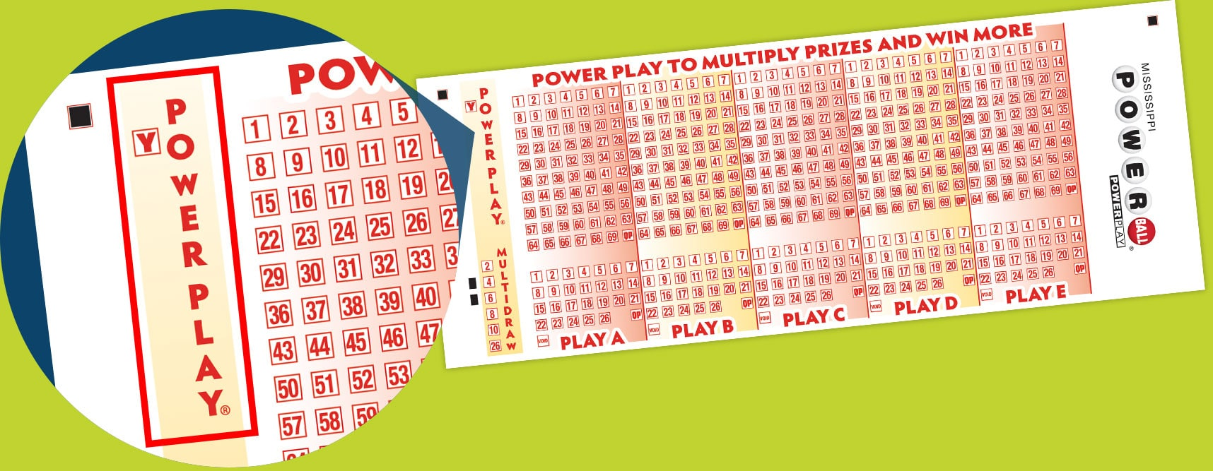 Powerball Mississippi Lottery