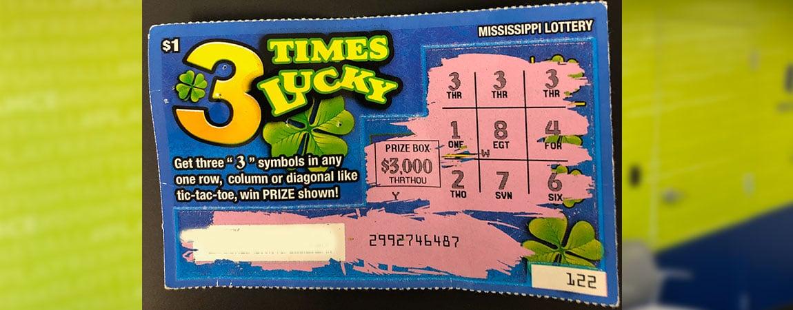 Man Wins Lottery 3 Times